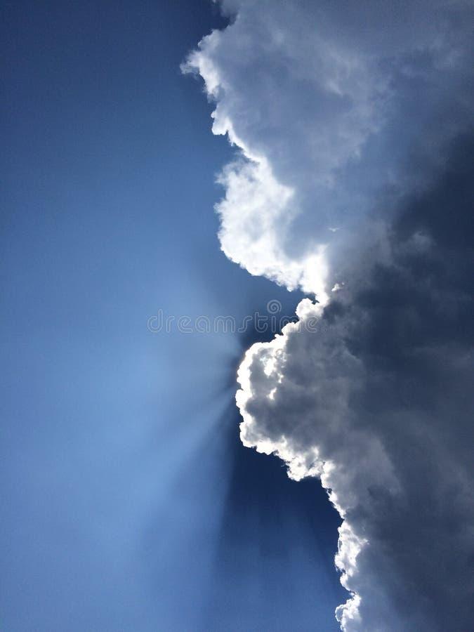 Przyrodni chmurny niebo obraz stock