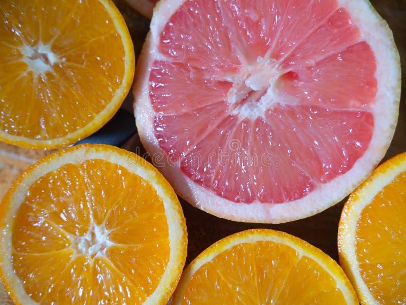 Przyrodni pomarańczowy i fotografia stock