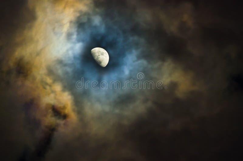 przyrodnia księżyc zdjęcie stock