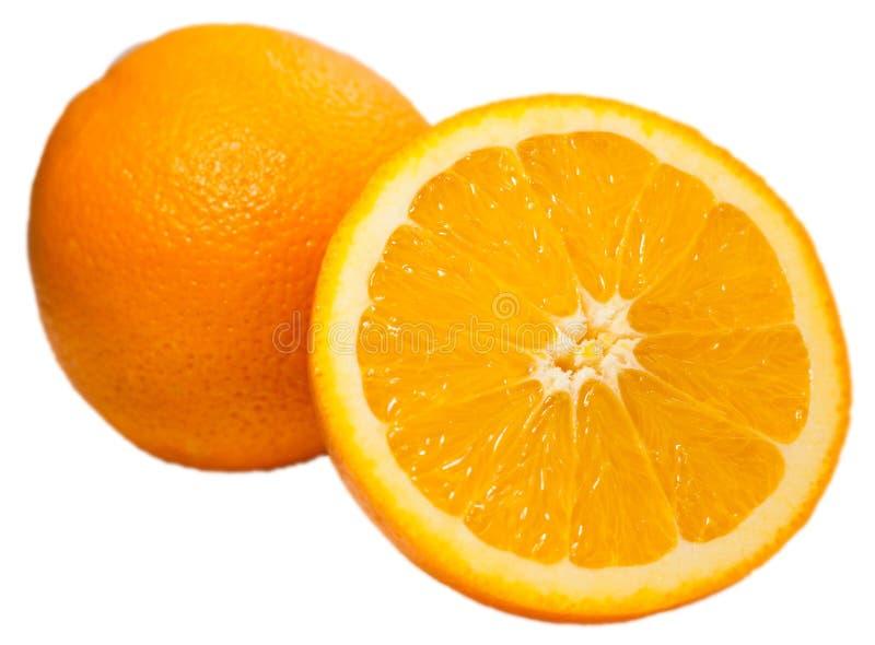 Przyrodnia pomarańcze i pomarańcze zdjęcia stock
