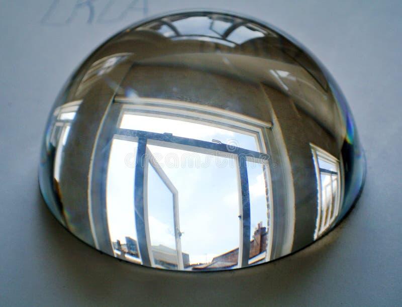 Przyrodnia sfera kryształ fotografia royalty free