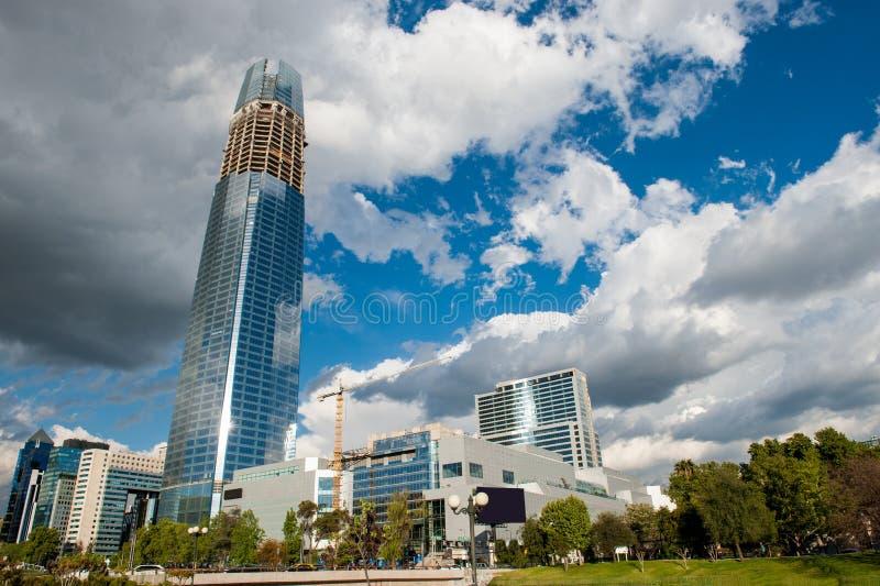 Przyrost ekologiczny i podtrzymywalny miasto fotografia royalty free