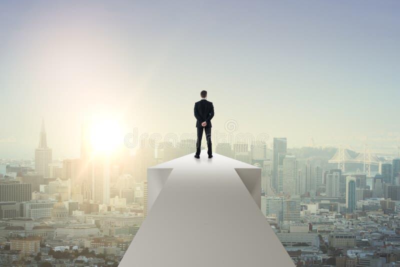 Przyrosta i sukcesu pojęcie obrazy stock