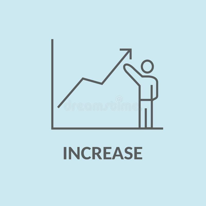 Przyrostowy pojęcie obraz stock