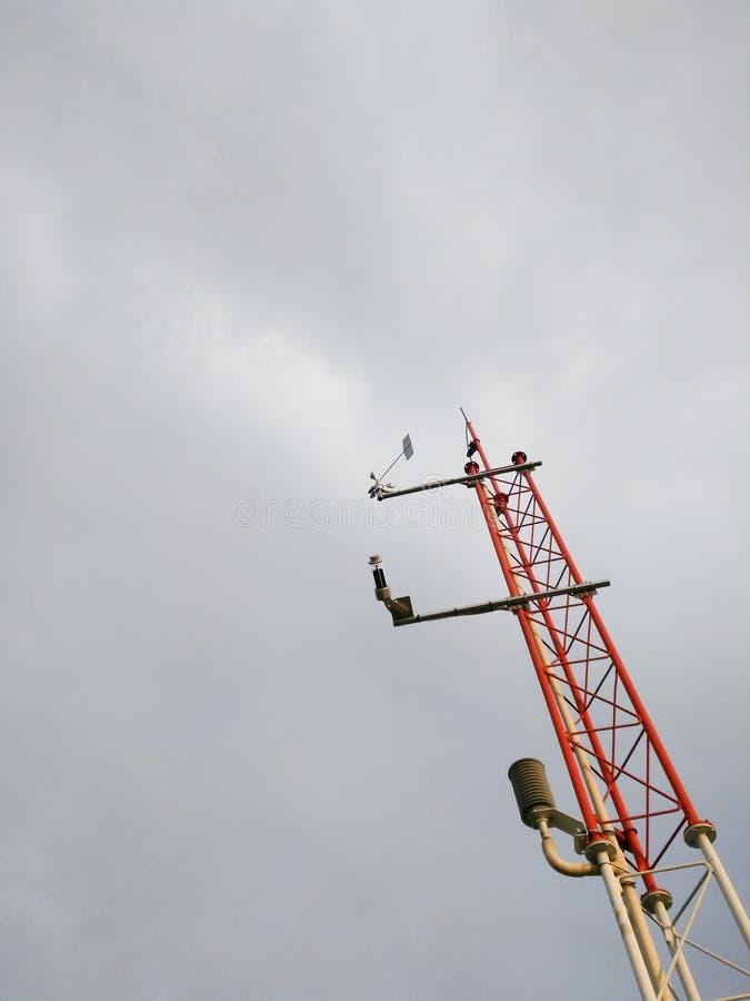 Przyrząd meteorologiczna stacja fotografia royalty free