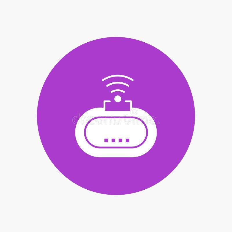 Przyrząd, ochrona, Wifi, sygnał ilustracji