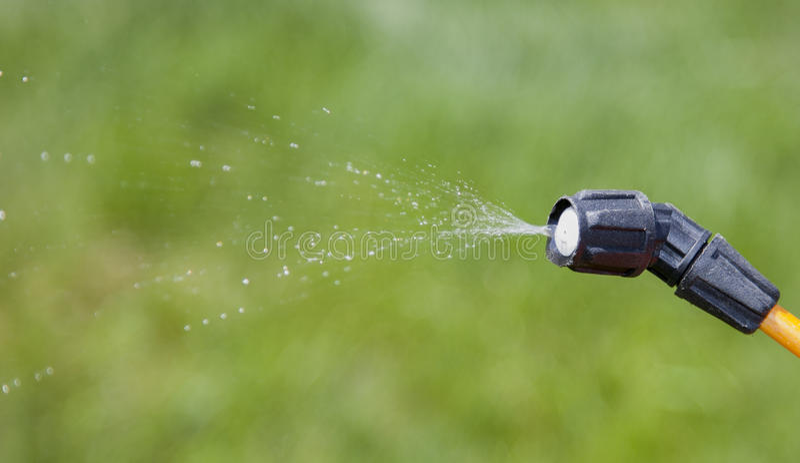 Przyrząd opryskiwanie pestycyd zdjęcie stock