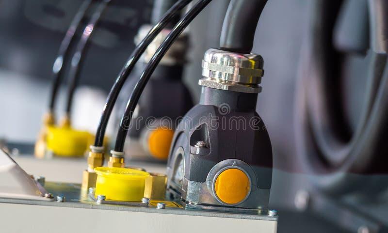 Przyrząd prymka Na Gniazdkowej Elektrycznej dostawie obrazy royalty free