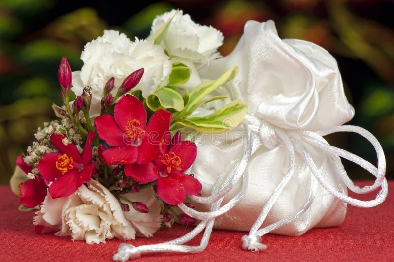 przysług kwiatów target5129_1_ obrazy stock