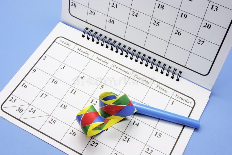 przysługi kalendarzowy przyjęcie fotografia royalty free