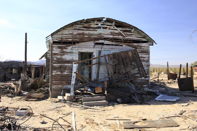 Przyschnięty dom 3 fotografia stock