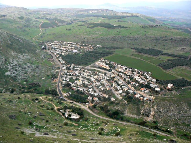 Przysiółek - Galilee zdjęcia stock