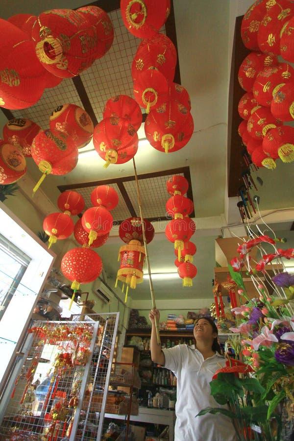 Przysmak dekoraci nowego roku Chiński świętowanie obraz stock
