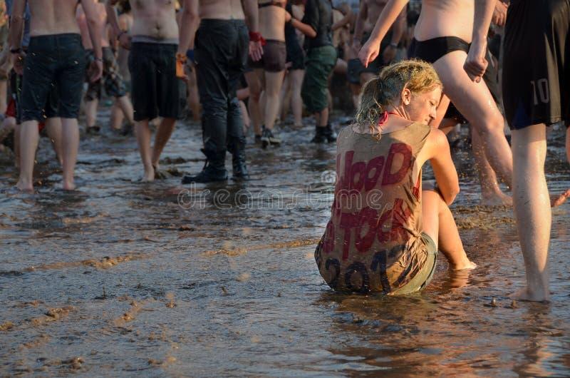 Przystanek Woodstock стоковое изображение