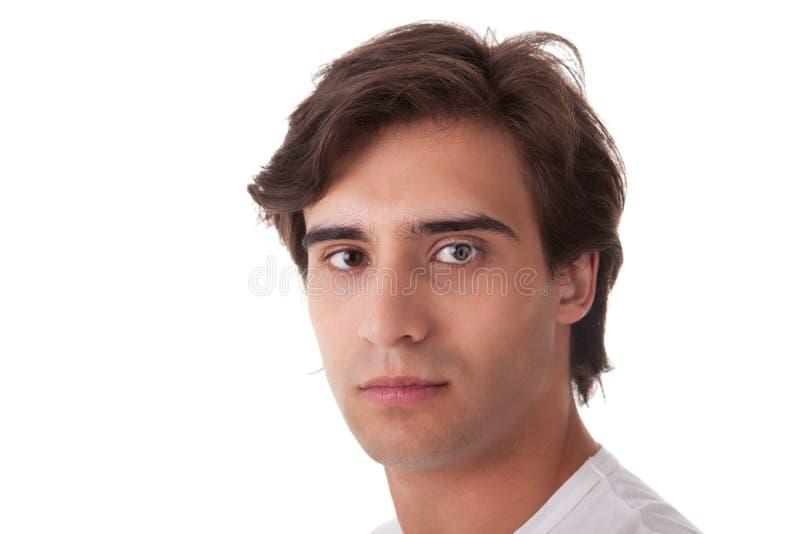 przystojni mężczyzna portreta potomstwa fotografia stock