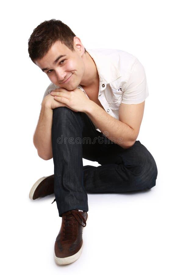 przystojni mężczyzna portreta potomstwa zdjęcia stock