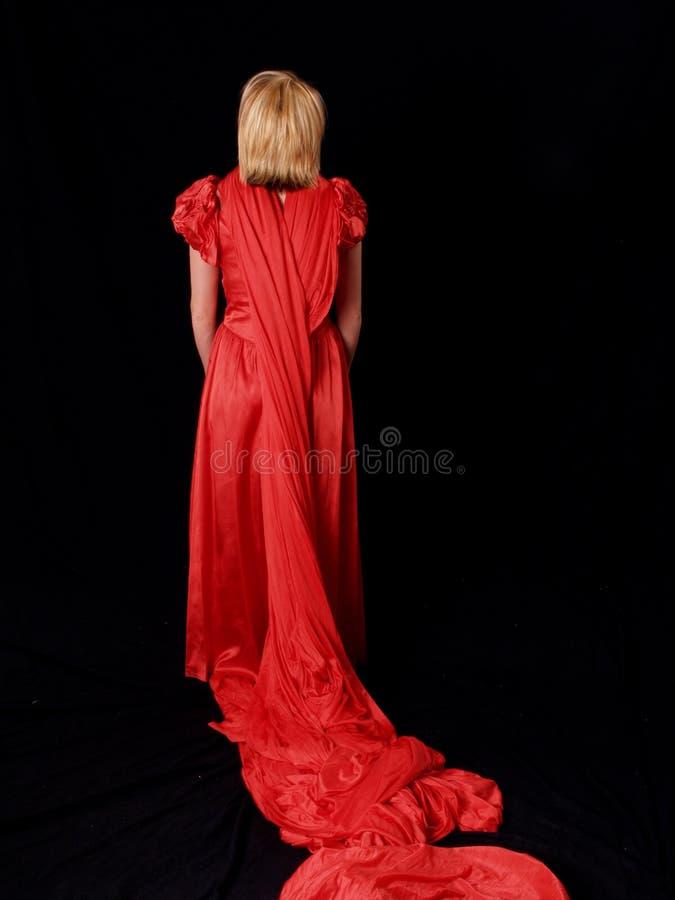 Przystojny blondynkę model