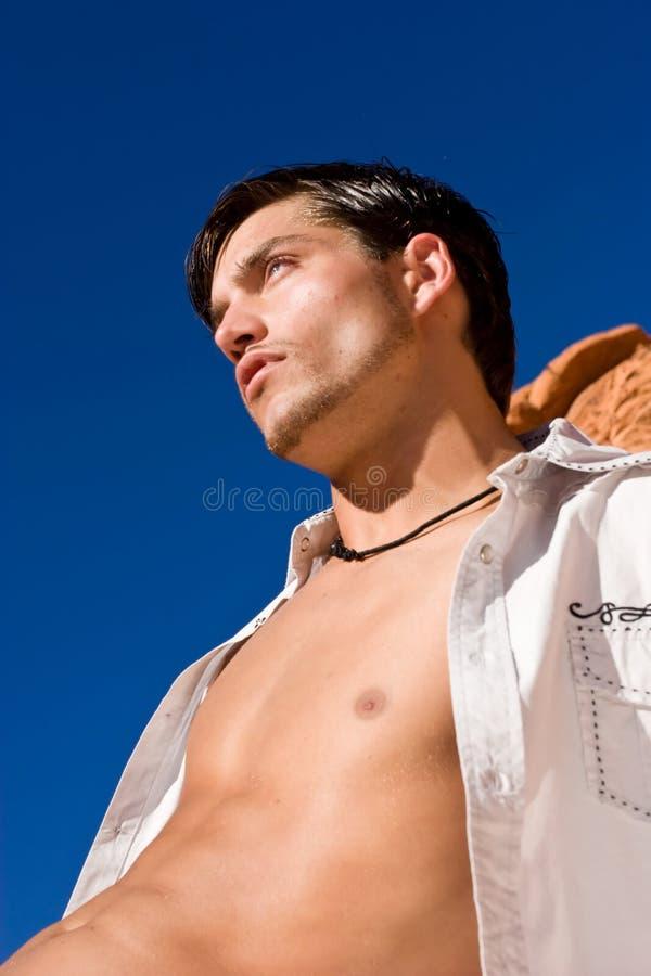 przystojny mężczyzna zdjęcie stock
