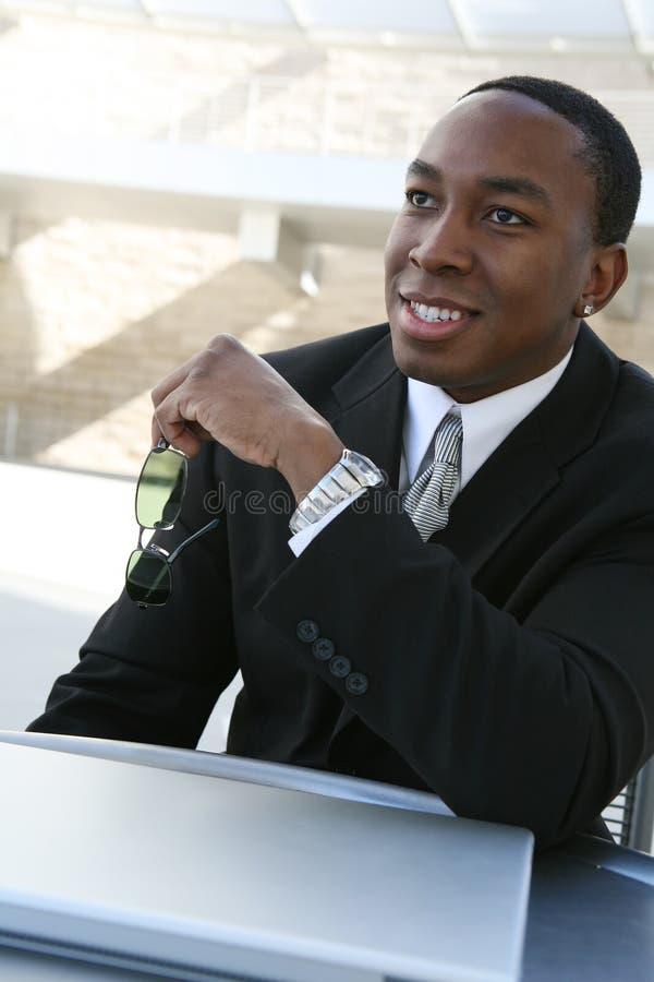 przystojny mężczyzna biznes fotografia stock