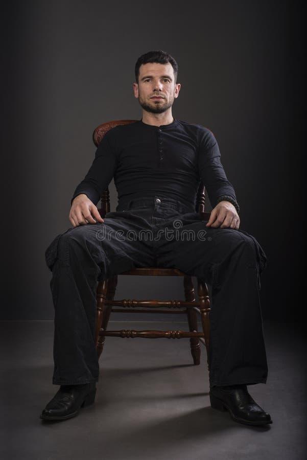 przystojny mężczyzna portret zdjęcie stock