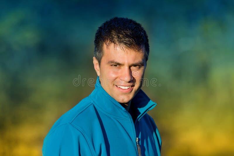 przystojny mężczyzna portret obrazy royalty free