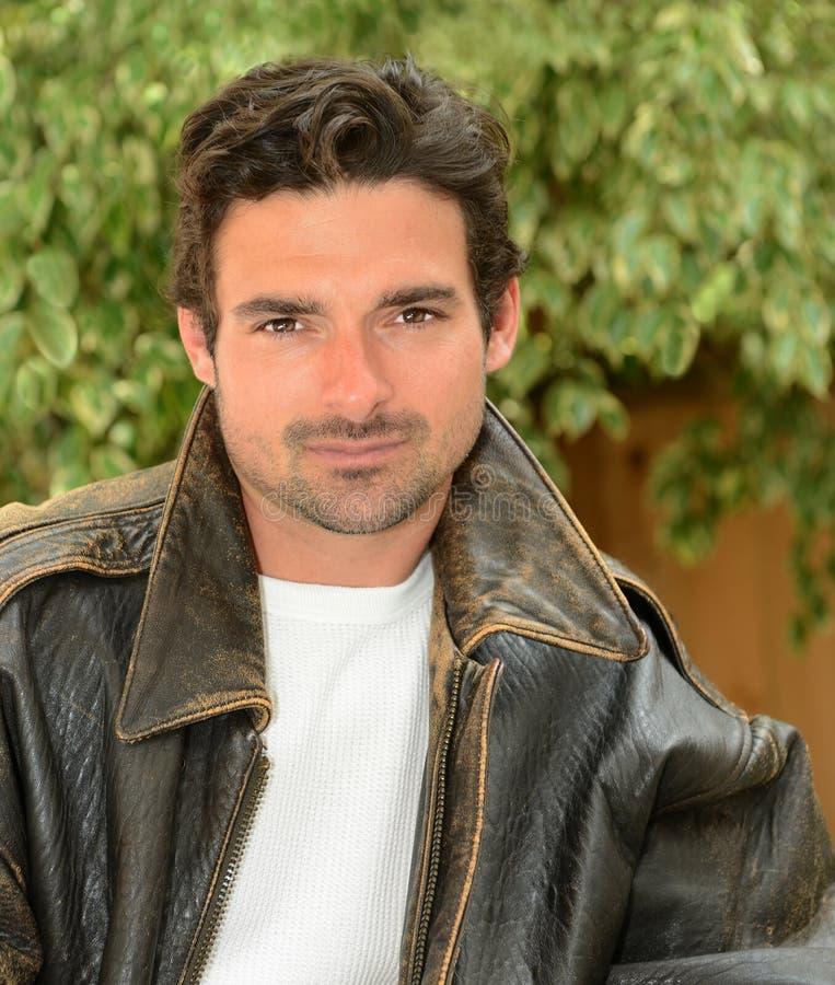 Przystojny Włoski mężczyzna obrazy royalty free