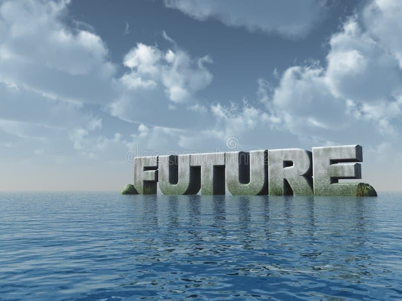 przyszłość royalty ilustracja