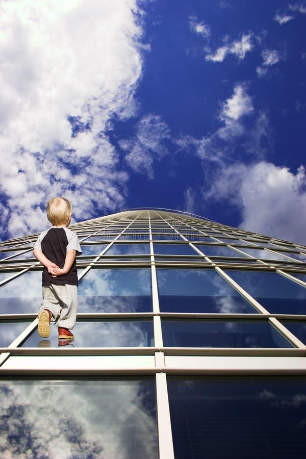 przyszłość dzieci. obraz stock