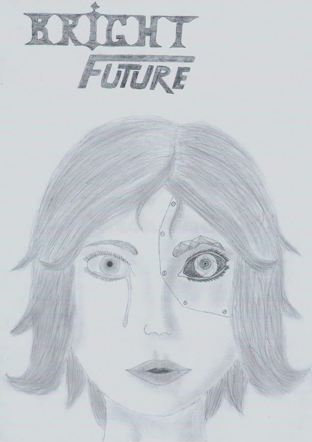 Przyszłość jest DOBRA obraz royalty free