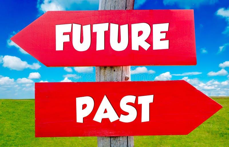 przyszłość przeszłością zdjęcia stock