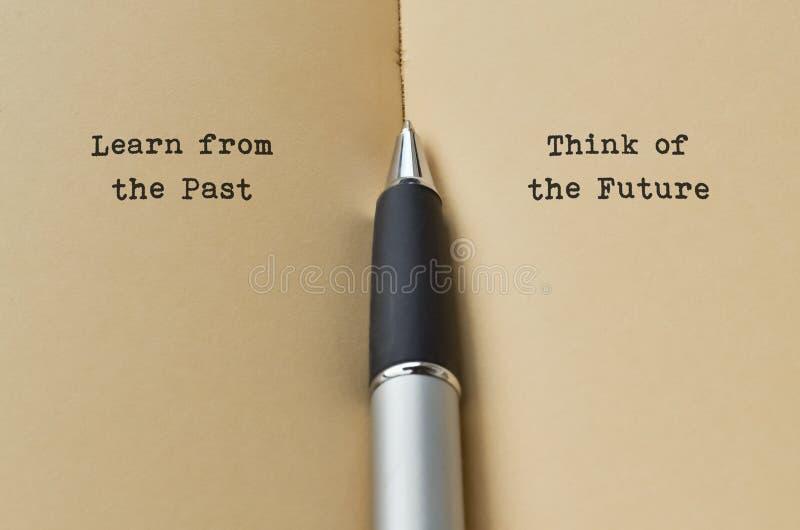 Przyszłości i przyszłości fotografia stock