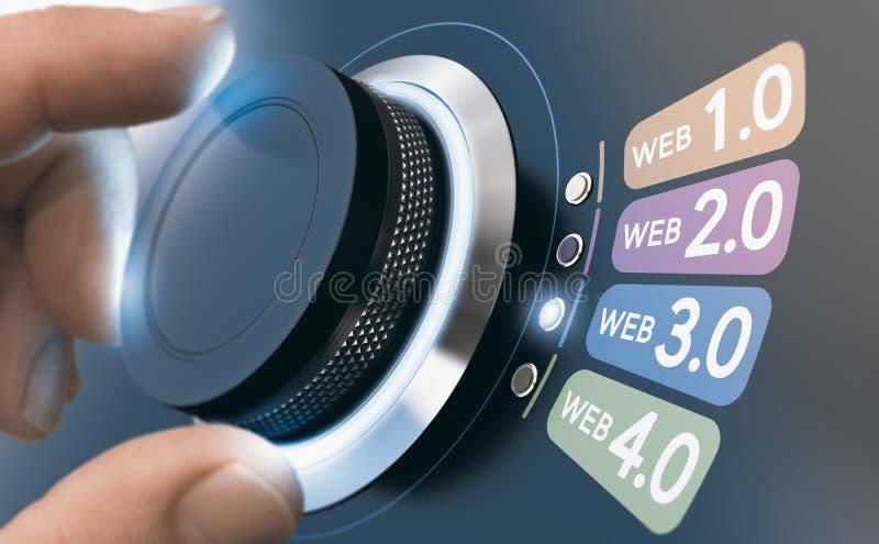 Przyszłościowa ewolucja Internetowa sieć 3 (0), Semantyczny ilustracji