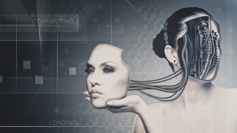 Przyszłościowa technologia i nauka ilustracja wektor