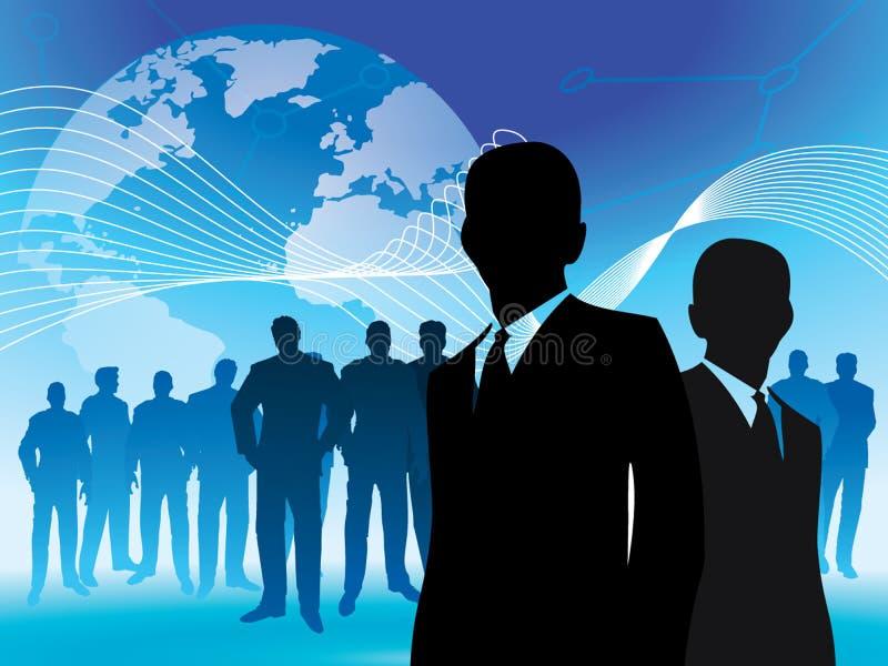 przywódctwo świat ilustracji