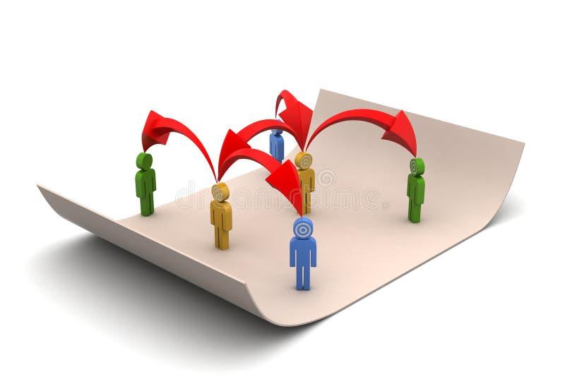 Download Przywódctwo Pojęcie, Lider I Drużyna, Ilustracji - Ilustracja złożonej z pomysł, biznesmen: 53777302