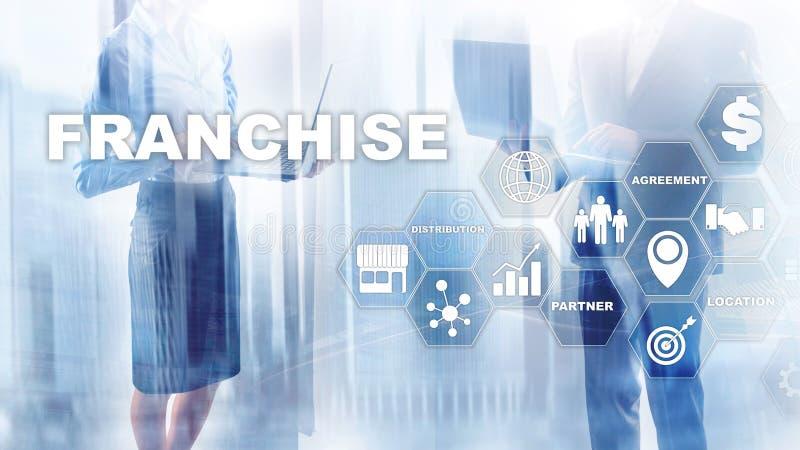 Przywileju pojęcie na wirtualnym ekranie Marketingowy Oznakuje handel detaliczny i Biznesowy pracy misji pojęcie fotografia stock