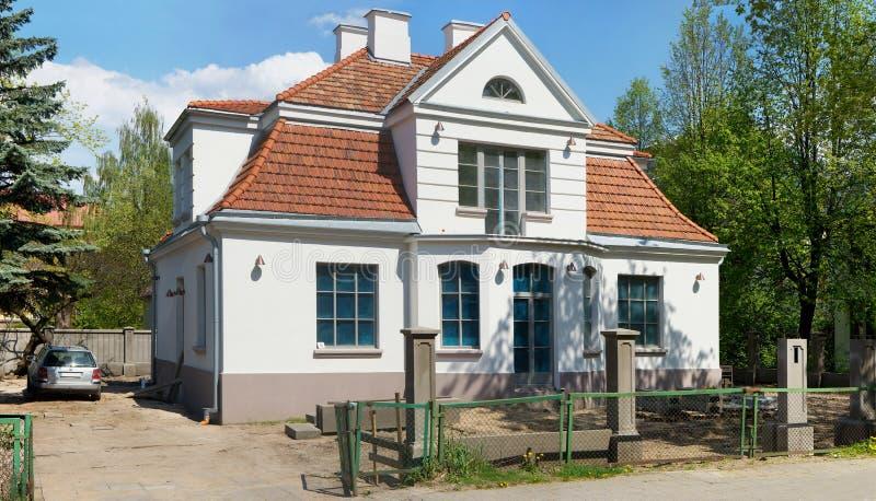 Przywrócenie stary wielmoża dom zdjęcia royalty free
