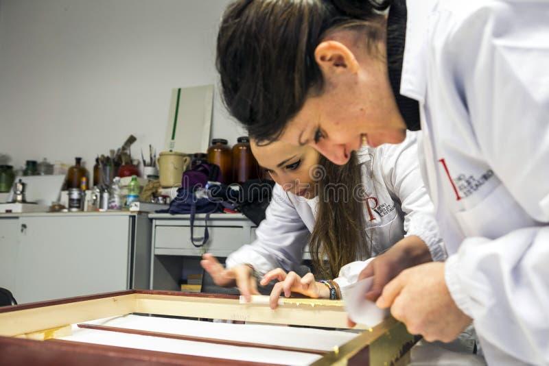 Przywrócić fabryka Włochy, Turyn - zdjęcie stock