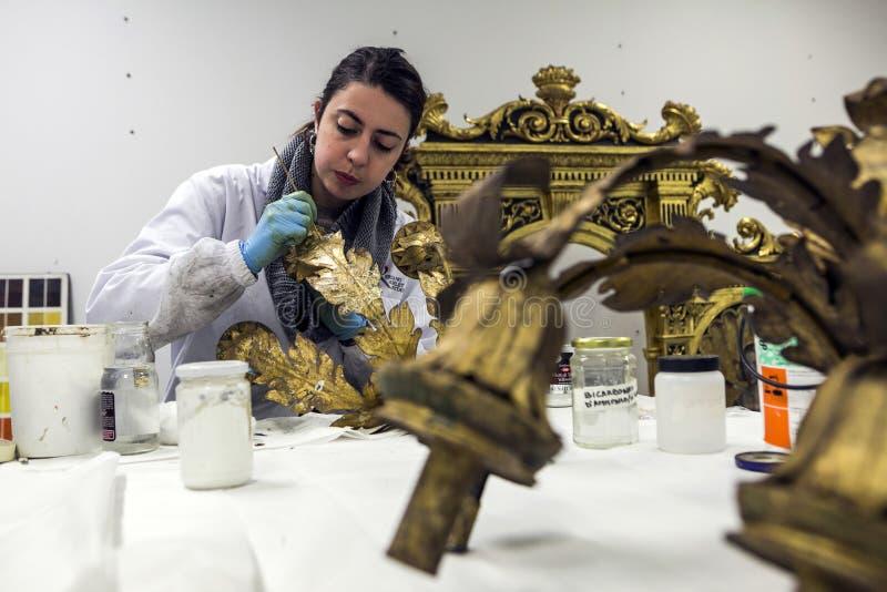 Przywrócić fabryka Włochy, Turyn - zdjęcie royalty free