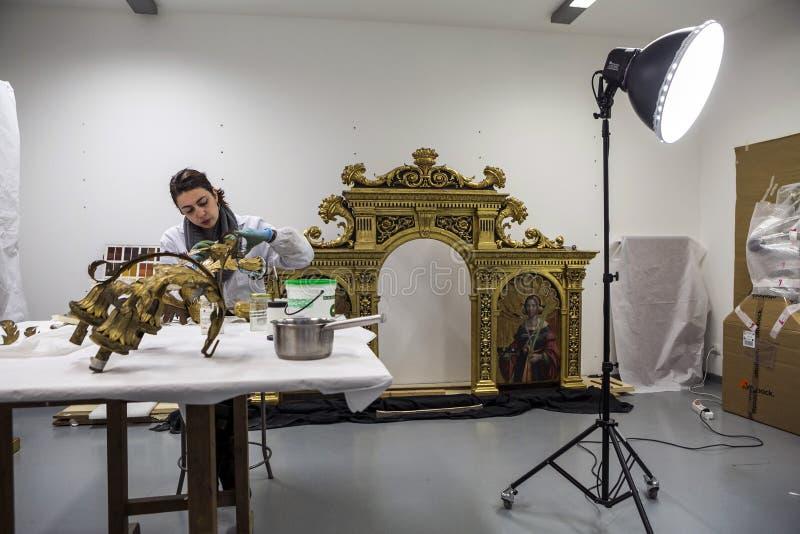Przywrócić fabryka Włochy, Turyn - fotografia royalty free