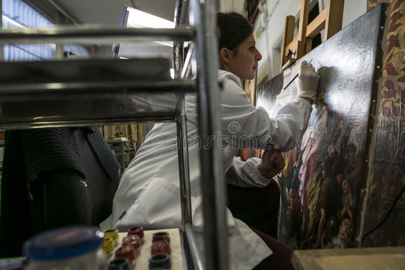 Przywrócić fabryka Włochy, Turyn - obrazy royalty free