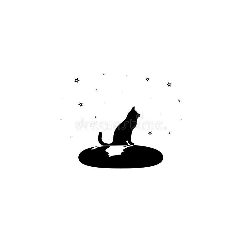 psów spojrzenia przy gwiazdy ikoną Element gwiazdy ikona Premii ilości graficzny projekt Znaki i symbol inkasowa ikona dla sieci ilustracja wektor