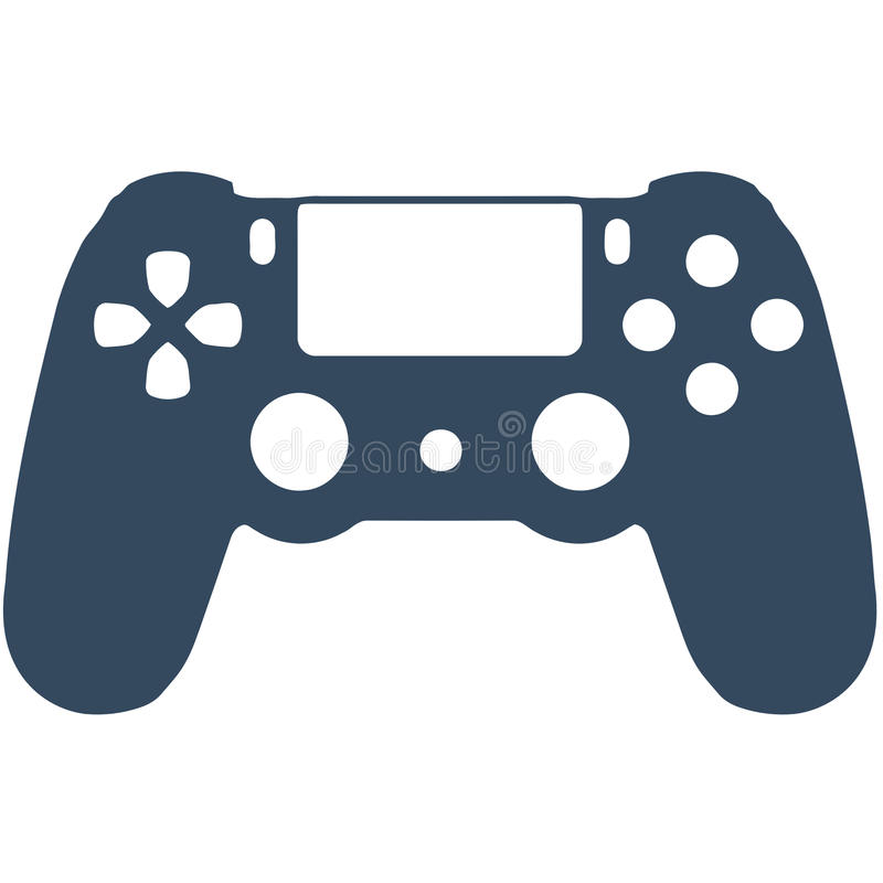 ps4 game controller stock illustration illustration of videogames rh dreamstime com game controller vector art game controller icon vector