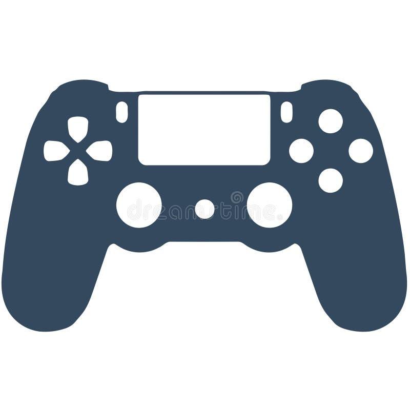 PS4 gry kontroler ilustracja wektor