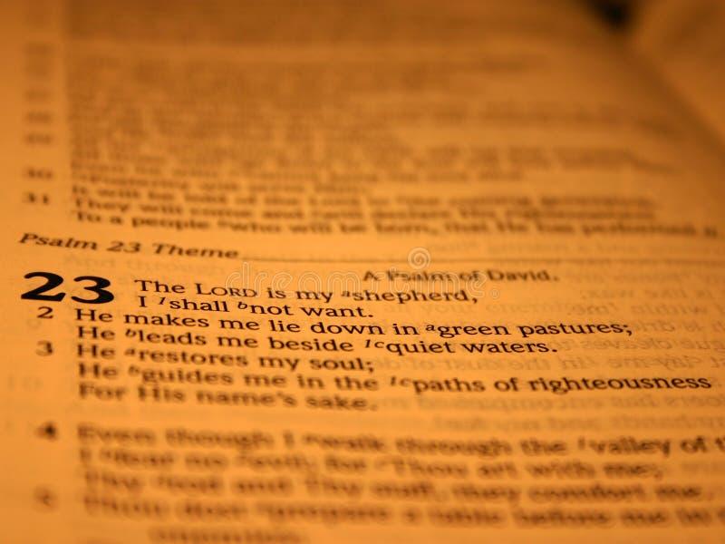 psalm 23 ii arkivbilder