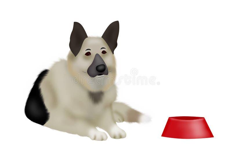 psi cakle royalty ilustracja