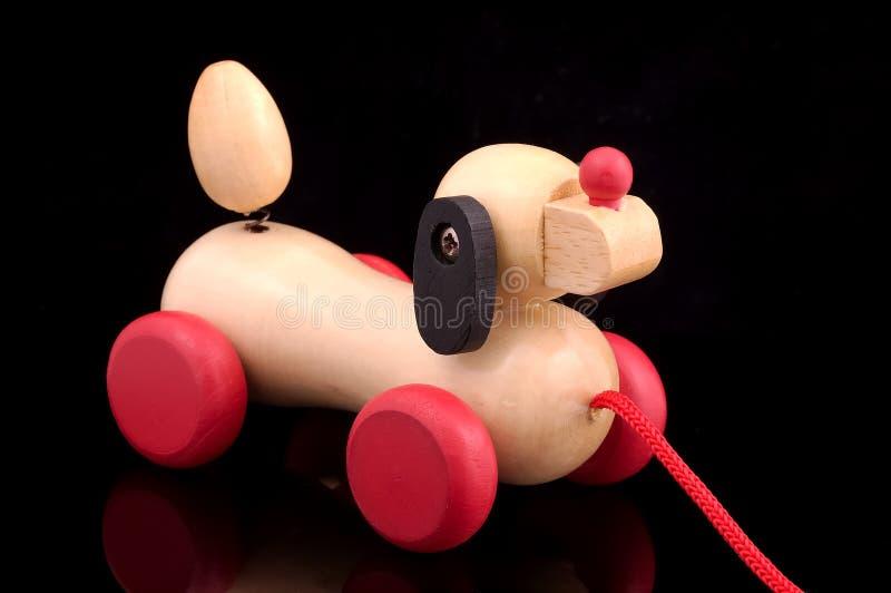 psi drewna obraz stock