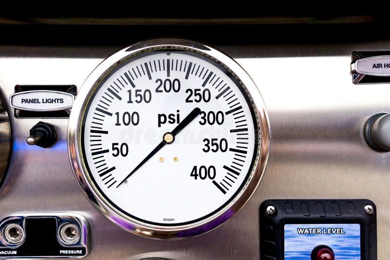 PSI Gage stock photography