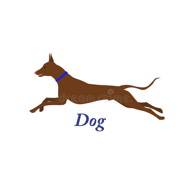Psi ikony zwierzę ilustracji