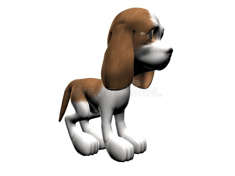 psi lewy szczeniak royalty ilustracja